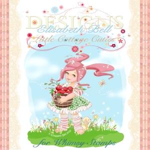 WS Elisabeth Bell Designs Logo feat. Apple Blossom 100dpi